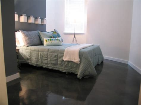 modern concrete floor finish in bedroom in camarillo ca ideas great gray stained concrete floors for basement