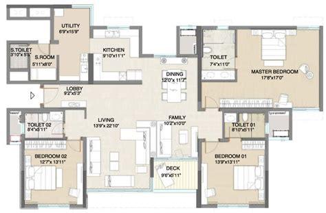 3 bhk apartment floor plan apartment floor plans embassy pristine 3 bhk flats in