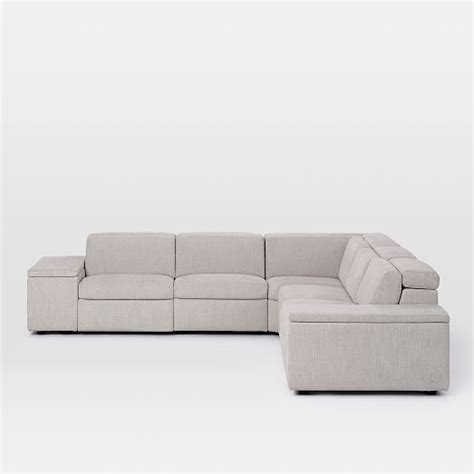 enzo sofa west elm enzo reclining 5 seater sectional west elm