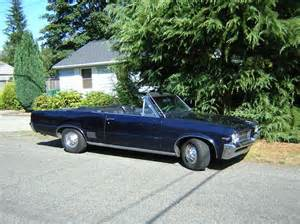 1964 Pontiac Convertible For Sale 1964 Pontiac Lemans Convertible For Sale In Seattle