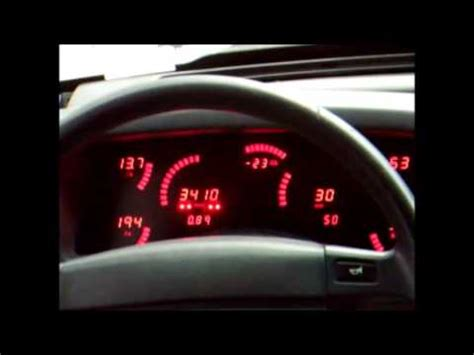 mustang digital speedometer 1987 1993 foxbody mustang digital instrument cluster demo