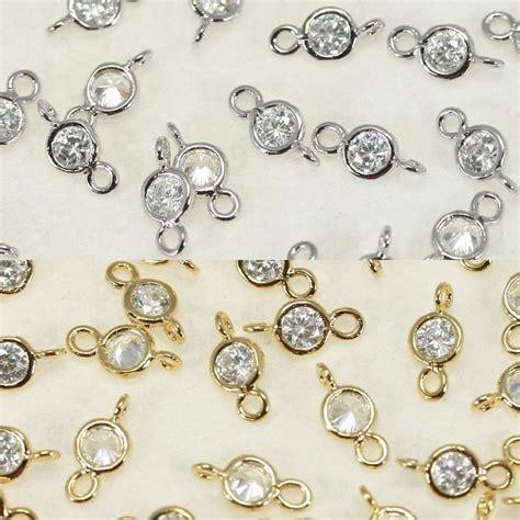 how to make metal jewelry charms rhinestone connectors metal pendant earrings