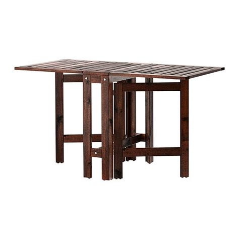 Ikea Outdoor Dining Table 196 Pplar 214 Gateleg Table Outdoor Ikea