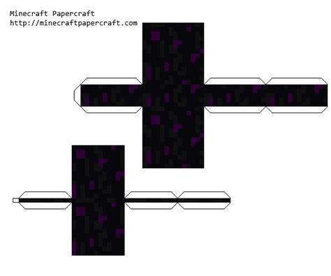 Papercraft Minecraft Ender - minecraft papercraft enderdragon egg www pixshark
