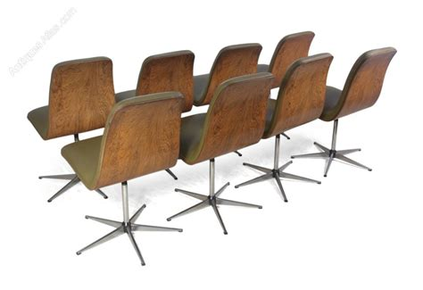 antiques atlas mid century leather chairs by fritz hansen c1960 antiques atlas mid century dining chairs by archie shine