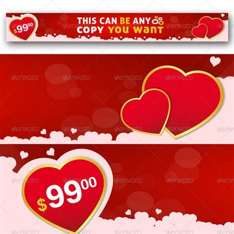 design banner valentine valentine s day web banner by garhernan graphicriver
