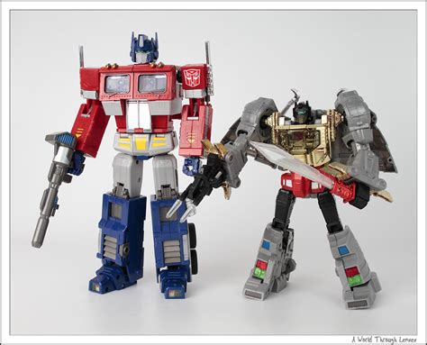 Transformers Masterpiece Toys transformers masterpiece grimlock a world through lenses
