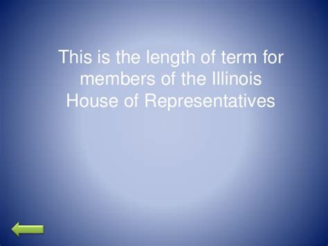 term length house of representatives jeopardy illinois constitution and flag code