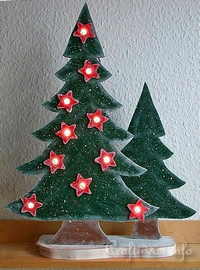 christmas woodworking ideas wood crafts with free patterns scrollsaw project lighted wooden trees