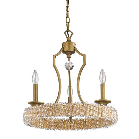 Mini Chandelier Pendants Acclaim Lighting Indoor 3 Light Brass Mini Chandelier With Pendant In11011rb