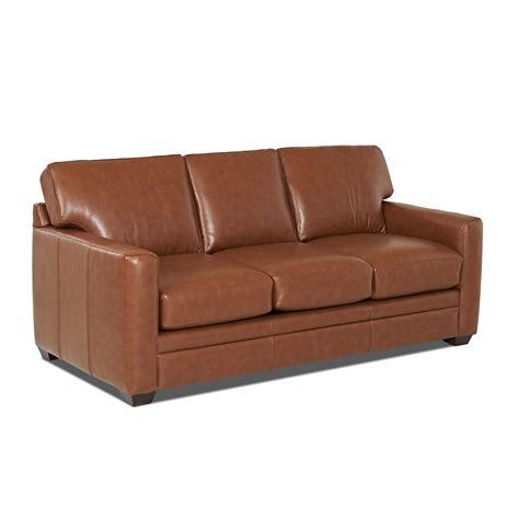 wayfair custom upholstery carleton leather sleeper sofa reviews wayfairca