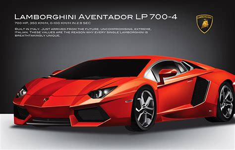 lamborghini aventador poster advertisement on behance