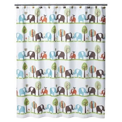 circo monkey shower curtain circo 174 elephant shower curtain baby elephant nursery