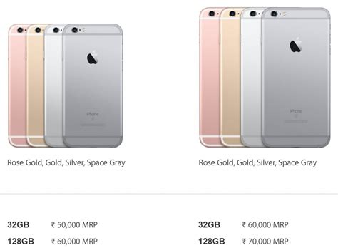 apple iphone 7 price in india revealed iphone 6s by inr 22000 maxabout news
