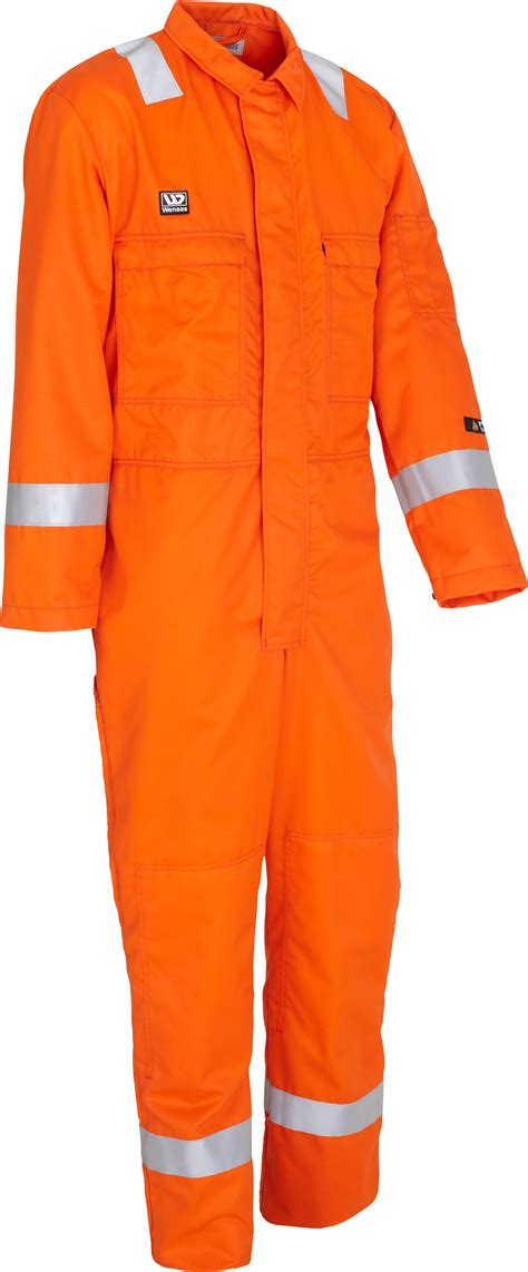 Coverall Nomex Wenaas 80926 Mens Fr Coverall Nomex Aramid Lightweight