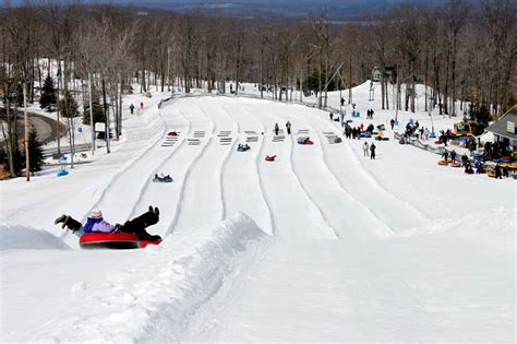 valley rubber st snow tubing st farmers markets day trip