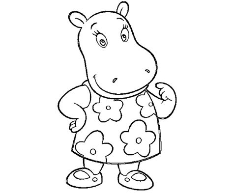 Backyardigans Coloring Pages Printable Coloring Coloring Pages The Backyardigans Coloring Pages