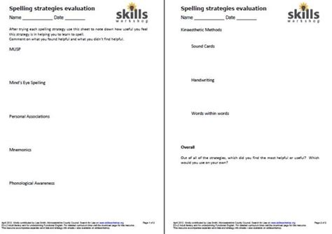Dyslexia Spelling Worksheets by Worksheet Dyslexia Worksheets Caytailoc Free Printables