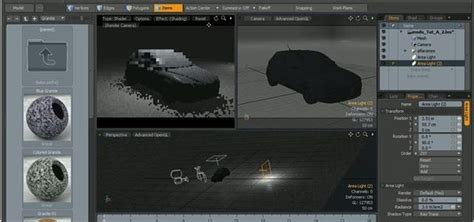 microspot 3d rendering software how to render a 3d model of a car within modo 171 software