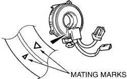 removing clock spring 1998 mitsubishi diamante repair guides heater core removal installation 1
