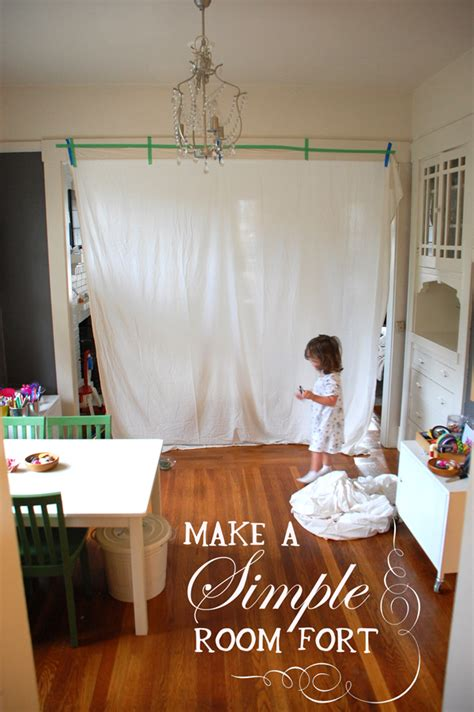 how to make a fort in your room make a simple room fort tinkerlab