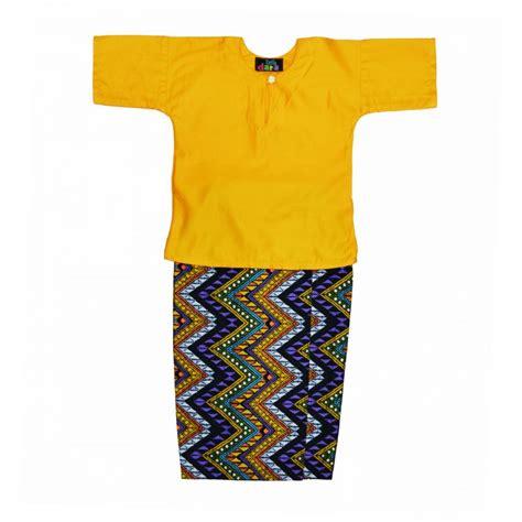Baju Melayu Mustard baju kurung kanak2 yello mustard kedai cadar patchwork murah berkualiti