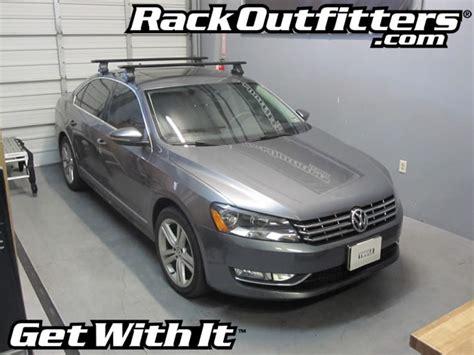 Passat Roof Rack by Rack Outfitters Volkswagen Passat 4 Door Sedan With Thule 480r Traverse Aeroblade Roof Rack And