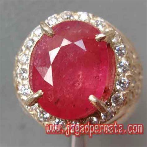 Permata Ruby Cutting 12 2 batu permata pink safir cutting jual batu permata hobi