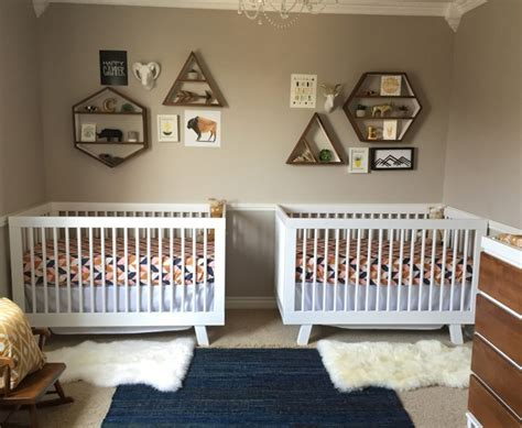 chambre bebe jumeaux meubler decorer chambre bebe jumeaux accueil design et