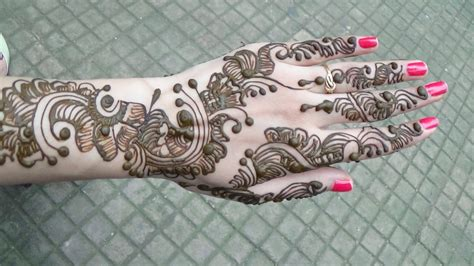 latest party mehndi designs for girls 2017 18 simple arabic