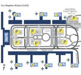 Los Angeles Terminal Map by Los Angeles International Airport Terminal B