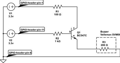 transistor to drive buzzer basics