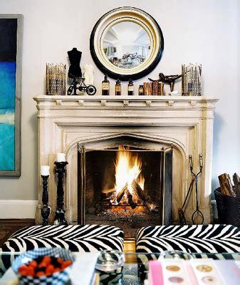 Our Own Home Zebra Ottomans | our own home zebra ottomans