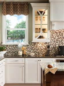 picture of backsplash kitchen 18 gleaming mosaic kitchen backsplash designs
