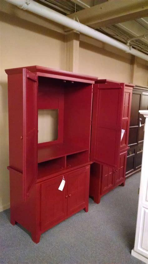 red tv armoire red tv armoire delmarva furniture consignment