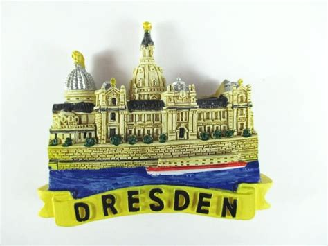 Souvenir Germany Magnet Kulkas Germany dresden magnet 3d look 2 3 5in souvenir germany germany new