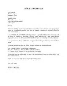 Application Letter For Fresh Graduate Manager Sle Application Letter For Fresh Graduates Business Management Cover Letter Templates