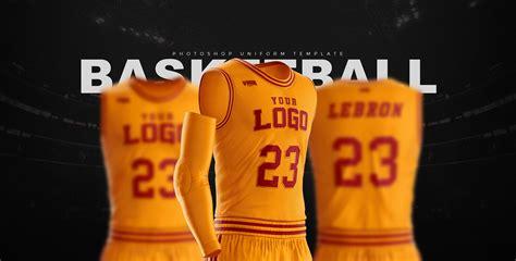 Basketball Uniform Jersey Mockup Freebie Designhooks Basketball Jersey Template Psd