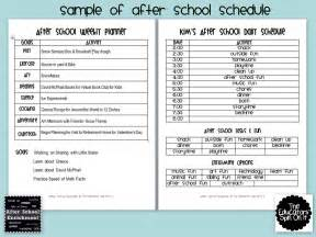 after school lesson plan template the educators spin on it after school weekly planner