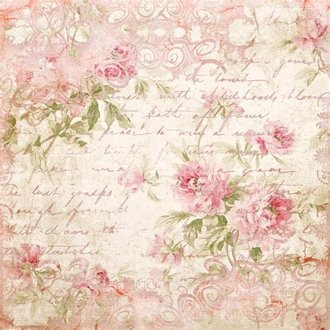 Free Background Papers For Card - pink paper with writting plaatjes
