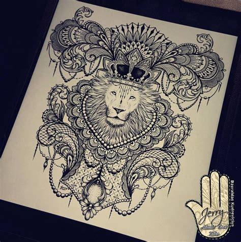 tattoo mandala lion beautiful lion mandala tattoo ideas drawing by dzeraldas