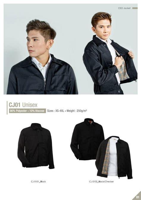 Size Baju Executive corporate executive jacket cetak baju murah