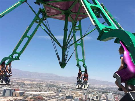stratosphere swing ride fear of heights