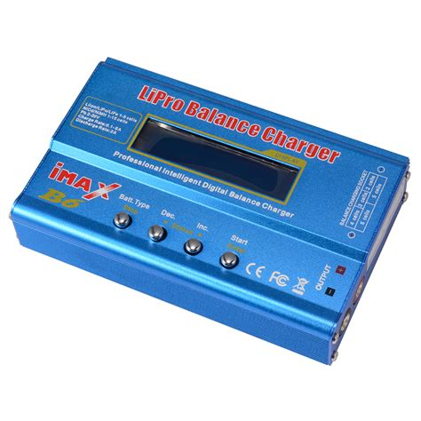 lipo battery charger i max b6 battery charger balance charger discharger for rc