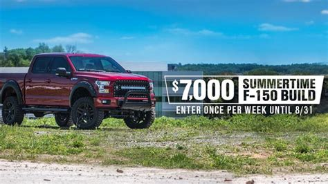 American Muscle 7000 Giveaway - win 7 000 in parts for your f 150 build americanmuscle