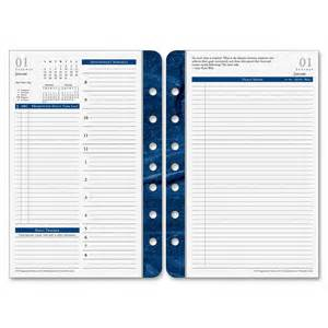 Franklin Covey Templates by Franklin Covey Classic Monticello 2ppd Planner Refill
