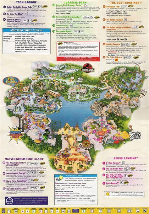 islands of adventure map universal studios orlando map of area universal studios guide map universal studios orlando