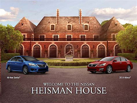 Nissan Heisman Sweepstakes - home nissan heisman house autos post