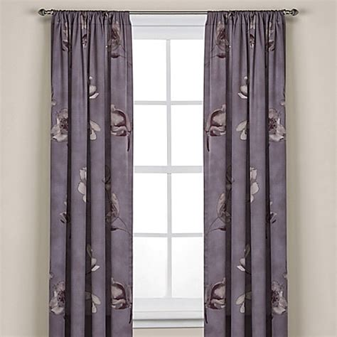 kenneth cole curtains kenneth cole reaction home night floral window curtain