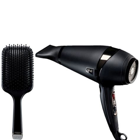 Ghd Hair Dryer Attachments ghd air hair dryer and paddle brush free shipping
